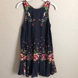 NWT Farm Rio Floral Toucan Dress